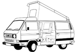 VW Bus T3 Westfalia