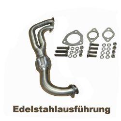 VW Bus T2 T3 Auspuff-Verbindungsrohr WBX 1,9 2,1 Edelstahl