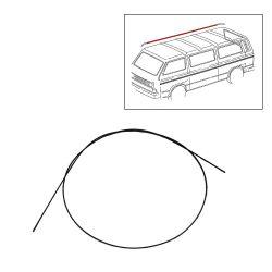 VW Bus T2 T3 Regenrinnenleiste / Kantenschutz / Dachreling