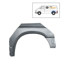 VW Bus T4 Reparaturblech Radlauf hinten links kurzer Radstand
