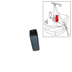 VW Bus T2 T3 Abdeckkappe für 3-Punkt-Gurt unten schwarz