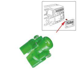 VW Bus T4 Lampenträger mit Glühlampe Klimabedienung ab 96