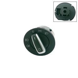 VW Bus T5 T6 Hauptlichtschalter chrom / schwarz