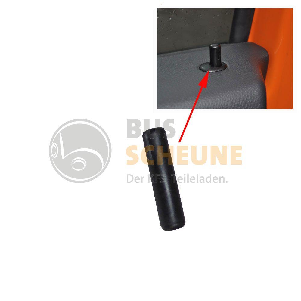 VW Bus T2 T3 Türknopf innen schwarz Tür Knopf Türverschluss NEU