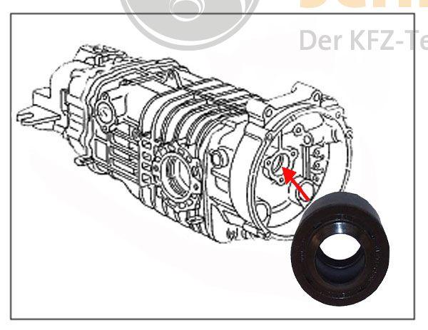 Wellendichtring Getriebe Ausrücklager für VW Bus T3 Neu