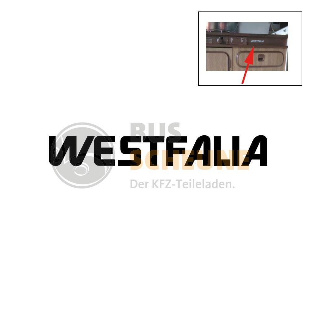 Aufkleber Westfalia Fur Den Kuchenblock Silber
