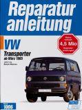 Reparaturanleitung VW T3 ab März 85 1.9/2.1 Benzin Motoren