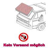 VW Bus T2 T3 Windschutzscheibe Grüncolor mit Grünkeil & Antenne