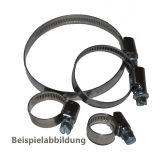Schraubschelle Edelstahl 25-40/9 mm*